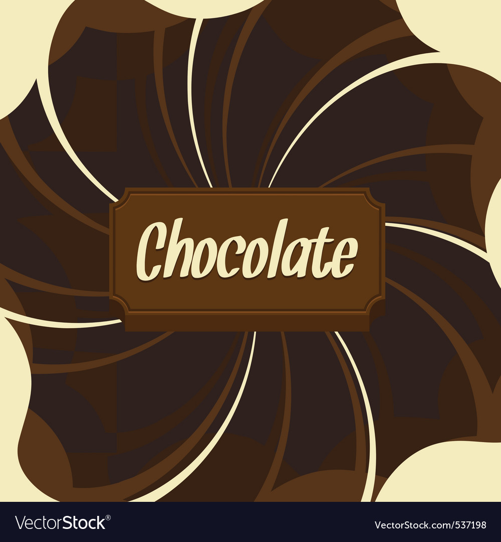 Chocolate background vector | Price: 1 Credit (USD $1)