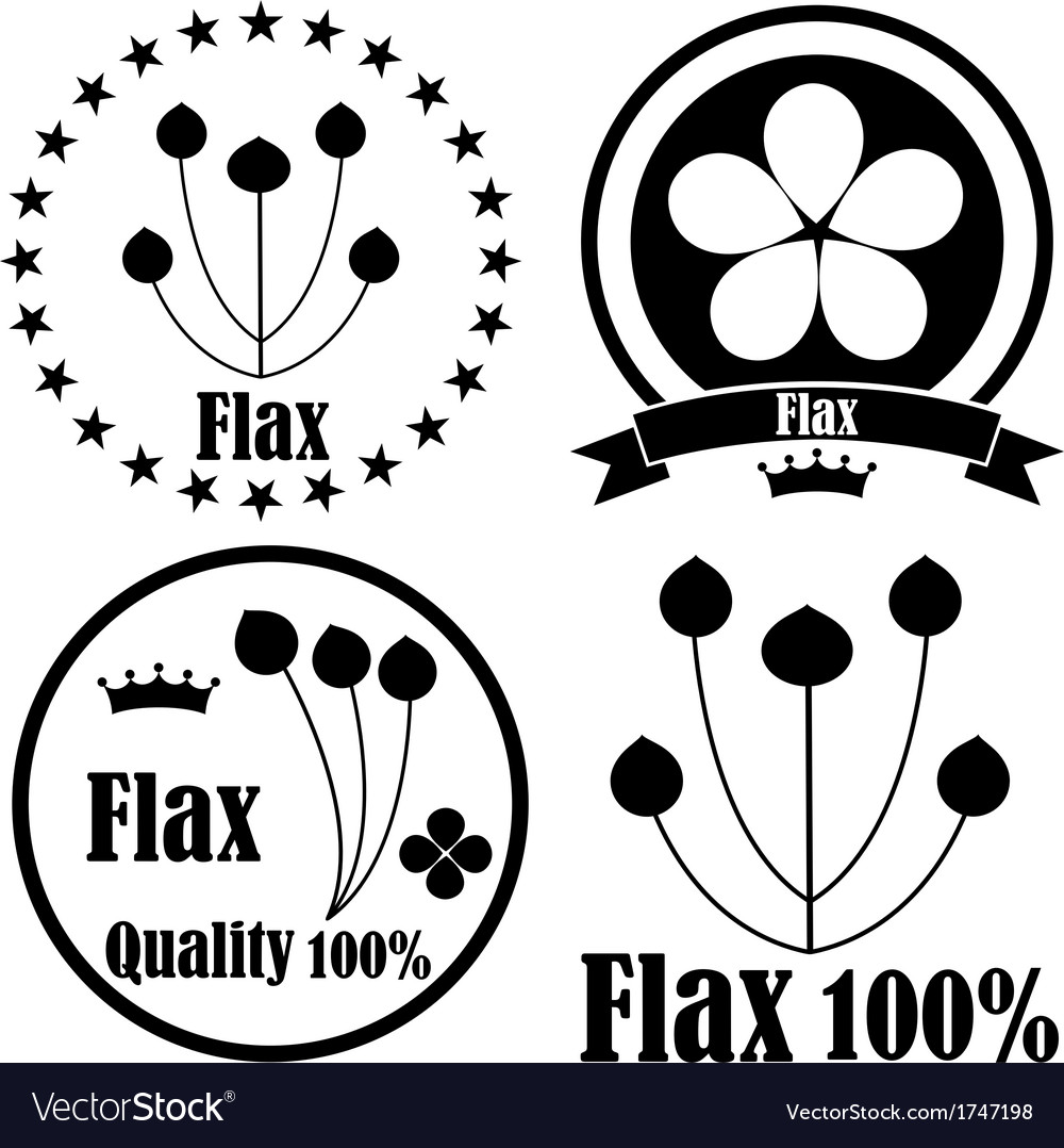 Flax vector | Price: 1 Credit (USD $1)