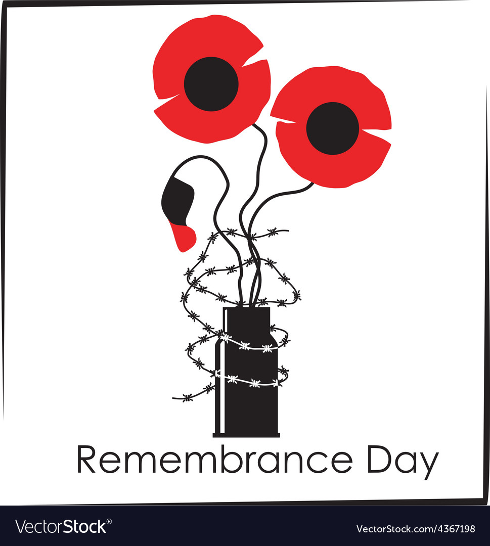 Remembrance day symbol vector | Price: 1 Credit (USD $1)