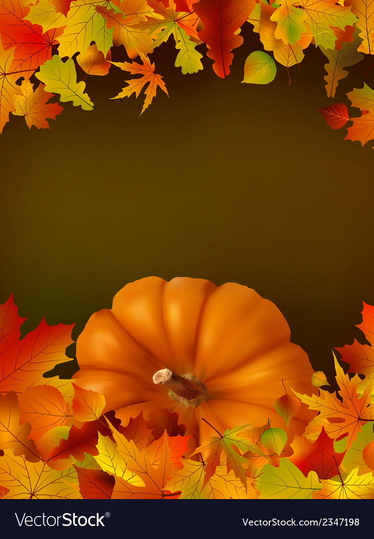 Thanksgiving template with copy space eps8 vector | Price: 1 Credit (USD $1)