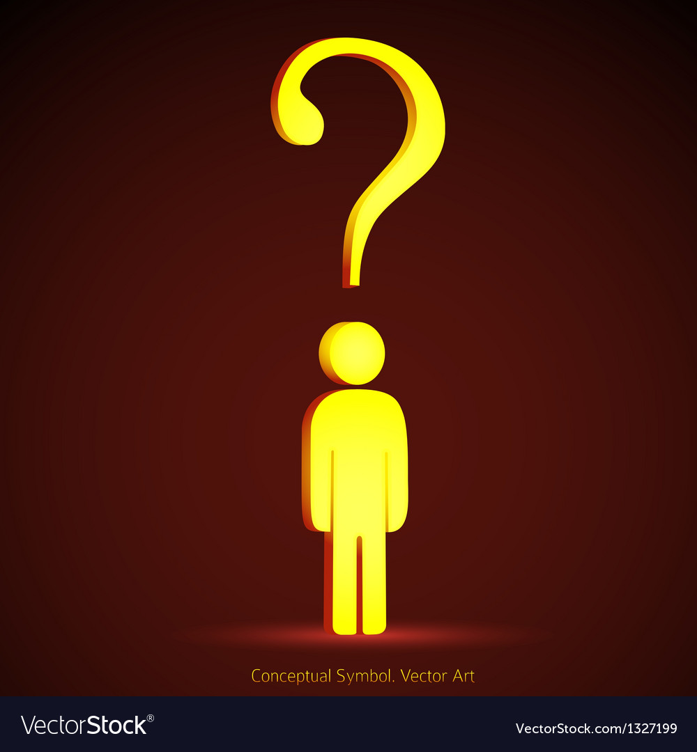 Question mark concept vector   Price: 1 Credit (USD $1)