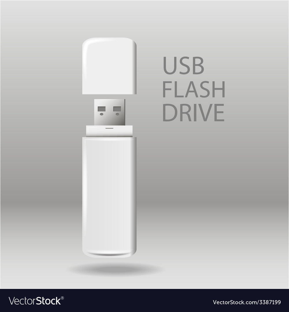Universal flash drive vector | Price: 1 Credit (USD $1)