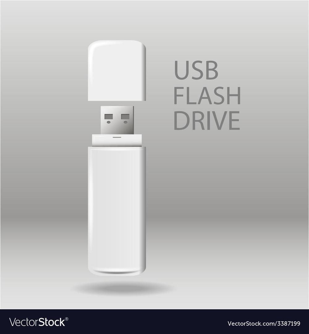 Universal flash drive vector | Price: 1 Credit (USD $1)