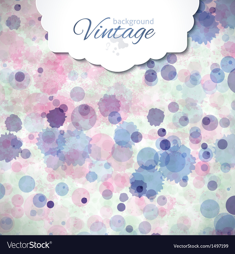 Watercolor vector | Price: 1 Credit (USD $1)