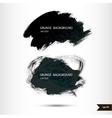Splash banner watercolor background vector