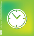 Clock watches icon vector