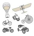 Set of retro transport vector