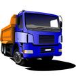 Al 0407 truck vector