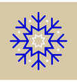 Snowflake ornament vector