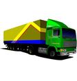 Al 0407 truck 02 vector