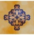 Tribal motif design mandala chakra yantra karma vector