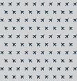 Airplane background pattern vector