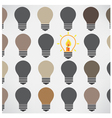 Creative light bulb idea concept background vector