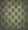 Damask vintage pattern vector