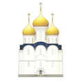 Russian church vector