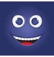 Funny smile vector