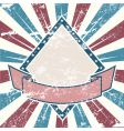 American old grunge vector