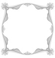 Gray frame vector