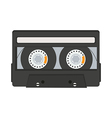 Cassette tape isolated on white background vector