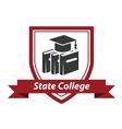 State college emblem vector