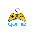 Game pad icon symbol background vector