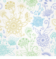 Floral seamless pattern vector