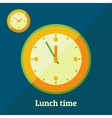 Lunch time vector