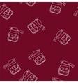 Cherry jam vector