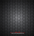 Metallic pattern abstract background vector