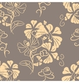 Decorative floral background seamless vector
