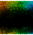 Multicolor abstract lights disco background vector