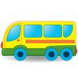Bus toy vector