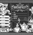 Vintage graphic element for bar menu vector