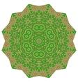 Polygonal colorful ornament vector