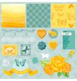 Design elements - ombre butterflies theme vector