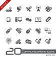 Wireless communications basics series vector