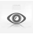 Eye icon human eye symbol vector