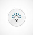 Idea icon 2 colored vector