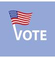Vote in usa vector