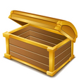 Currency chest vector