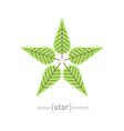 Minimal evergreen trees vintage label vector