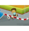 Traffic danger vector