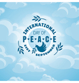 International day of peace background vector