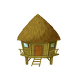 Cartoon hut vector