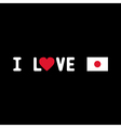 I love japan3 vector