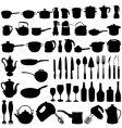 Kitchen tools vector
