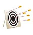Target arrows vector