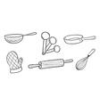 Baking tools vector