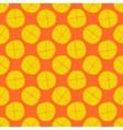 Lemon seamless pattern - fruit texture vector