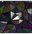 Abstract polygon stained glass vector